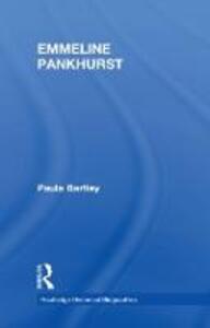Emmeline Pankhurst - Paula Bartley - cover