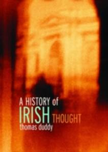 A History of Irish Thought - Thomas Duddy - cover