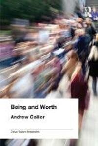 Being and Worth - Andrew Collier - cover