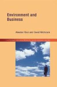 Environment and Business - Alasdair Blair,David Hitchcock - cover