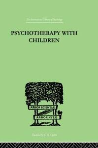 Psychotherapy with Children - Frederick H. Allen - cover