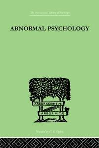 Abnormal Psychology - Isador H. Coriat - cover