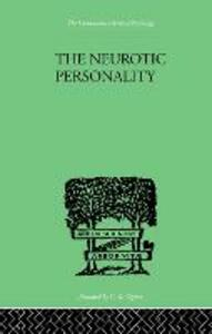 The Neurotic Personality - R. G. Gordon - cover