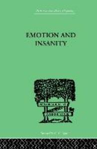 Emotion and Insanity - S. Thalbitzer - cover