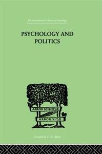 Psychology and Politics: And other Essays - W. H. R. Rivers - cover