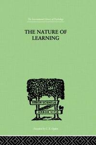 The Nature of Learning: In Its Relation to the Living System - George Humphrey - cover