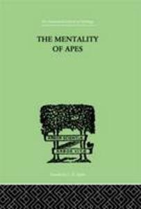 The Mentality of Apes - Wolfgang Kohler - cover