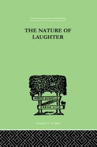 The Nature Of Laughter - J. C. Gregory - cover