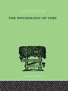 The Psychology of time - Mary Sturt - cover