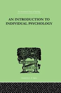 An INTRODUCTION TO INDIVIDUAL PSYCHOLOGY - Rudolf Dreikurs - cover