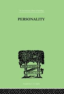 Personality - R. G. Gordon - cover