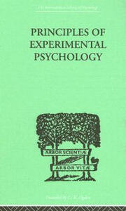Principles Of Experimental Psychology - Henri Piron - cover