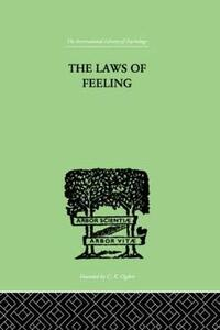 The Laws Of Feeling - F. Paulhan - cover