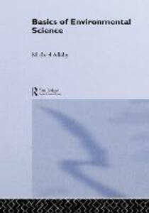 Basics of Environmental Science - Michael Allaby - cover
