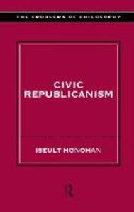 Civic Republicanism - Iseult Honohan - cover