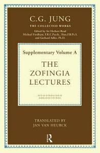 The Zofingia Lectures: Supplementary Volume A - C. G. Jung - cover