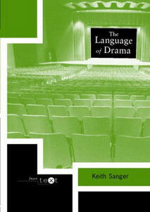 The Language of Drama - Keith Sanger - cover