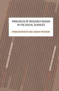 Principles of Research Design in the Social Sciences - Frank Bechhofer,Lindsay Paterson - cover