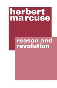 Reason and Revolution - Herbert Marcuse - cover