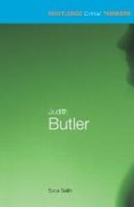 Judith Butler - Sara Salih - cover