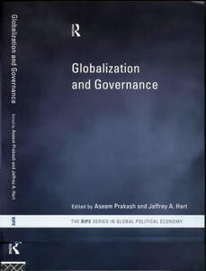 Globalization and Governance - cover