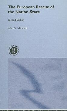 The European Rescue of the Nation State - Alan S. Milward - cover