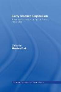 Early Modern Capitalism: Economic and Social Change in Europe 1400-1800 - cover