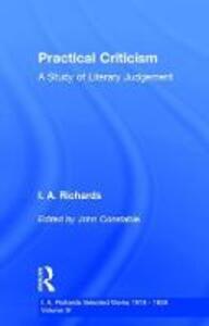 Practical Criticism        V 4 - cover