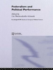 Federalism and Political Performance - cover