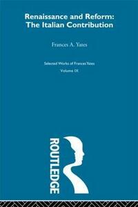 Renaissance Italian Con - Yates - cover