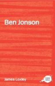 Ben Jonson - James Loxley - cover