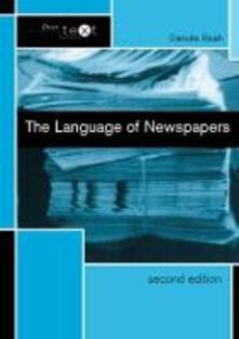 The Language of Newspapers - Danuta Reah - cover