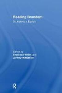 Reading Brandom: On Making It Explicit - cover