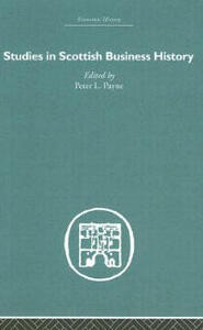 Studies in Scottish Business History - cover