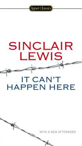 Libro in inglese It Can't Happen Here  - Sinclair Lewis