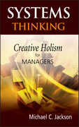 Libro in inglese Systems Thinking: Creative Holism for Managers Michael C. Jackson