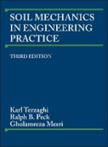 Soil Mechanics in Engineering Practice - Karl Terzaghi,Ralph B. Peck,Gholamreza Mesri - cover