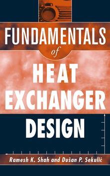 Fundamentals of Heat Exchanger Design - Ramesh K. Shah,Dusan P. Sekulic - cover