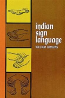 Indian Sign Language - William Tomkins - cover