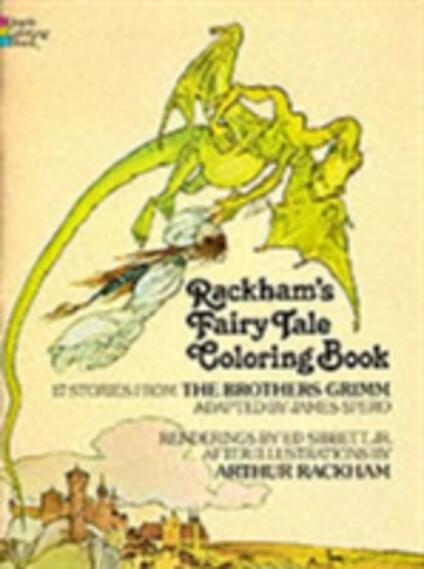 Rackham's Fairy Tale Colouring Book - Arthur Rackham - cover
