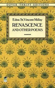 Renascence and Other Poems - Edna St. Vincent Millay - cover
