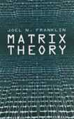 Libro in inglese Matrix Theory Joel Nick Franklin