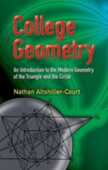 Libro in inglese College Geometry: An Introduction to the Modern Geometry of the Triangle and the Circle Nathan Altshiller-Court