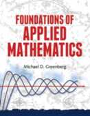 Libro in inglese Foundations of Applied Mathematics Michael Greenberg