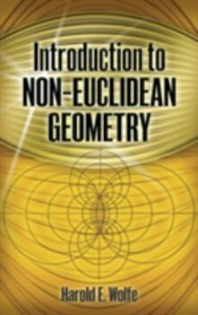 Introduction to Non-Euclidean Geometry - Wolfe - cover