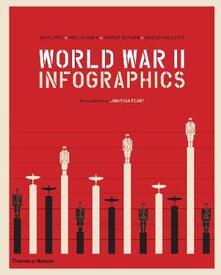 World War II: Infographics - Jean Lopez,Vincent Bernard,Nicolas Aubin - cover