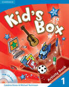 Libro in inglese Kid's Box Level 1 Activity Book with CD-ROM Caroline Nixon Michael Tomlinson