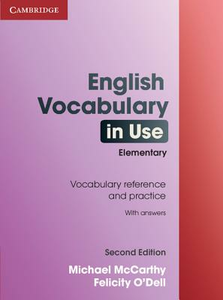 Libro English vocabulary in use. Elementary. With answers Michael McCarthy , Felicity O'Dell