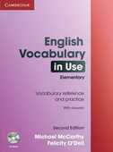 Libro in inglese English Vocabulary in Use Elementary with Answers and CD-ROM Michael McCarthy Felicity O'Dell