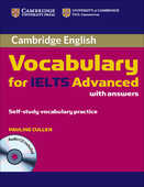 Libro in inglese Cambridge Vocabulary for IELTS Advanced Band 6.5+ with Answers and Audio CD Pauline Cullen